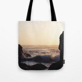 Golden Hour, Ruby Beach, Washington Tote Bag