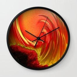 Hot Summer Fantasy Wall Clock