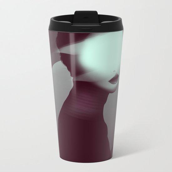 Bastet/Cat Goddess (Color Variant Version) Metal Travel Mug