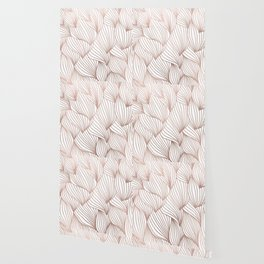 Rose gold petals Wallpaper