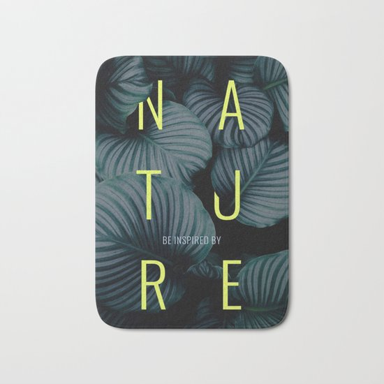Be inspired by nature Bath Mat