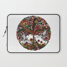 tree of life white Laptop Sleeve