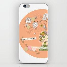 Be Your Beautiful Self iPhone Skin