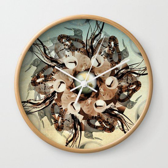 viper in the mix Wall Clock
