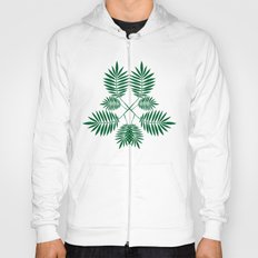 Palm pattern. Hoody