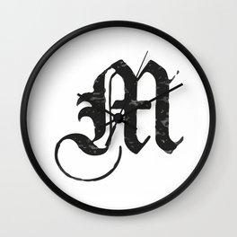 M Wall Clock