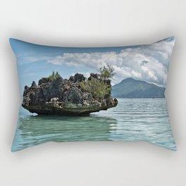 Crystal Rock, Mauritius Rectangular Pillow
