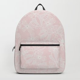 Blush Flowers Backpack