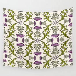 Wild Thistle Meadow Wall Tapestry