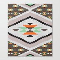 navajo Canvas Prints featuring Navajo by Priscila Peress