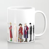 doctor who Mugs featuring Doctor Who? by The Joyful Fox