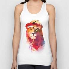 Gym Lion Unisex Tank Top