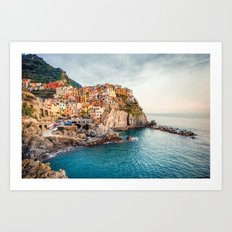 Manarola,Italy Art Print