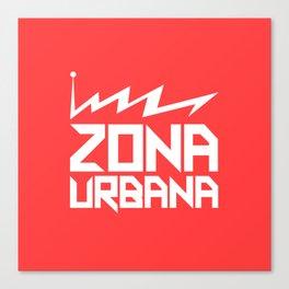 Zona Urbana - Classic Logo Canvas Print