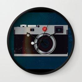 Leica style camera Wall Clock