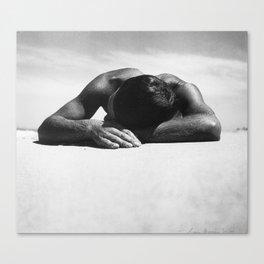 Sunbaker by Max Dupain, 1937 - Australian Photographer Canvas Print