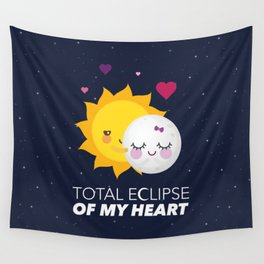 Total eclipse of my heart Wall Tapestry