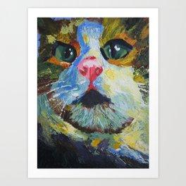 Cat Painting  Art Print