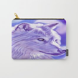 The Silver Wolf Carry-All Pouch
