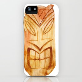 Tiki iPhone Case