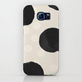 Ink Blots - black iPhone Case