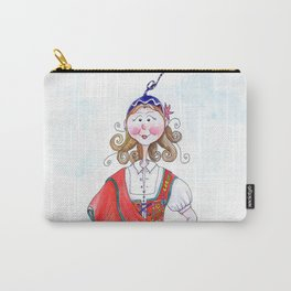 MARIA FROM MADEIRA, PORTUGAL Carry-All Pouch