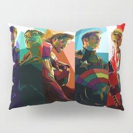 WPAP Avenger - Iron Man, Cap America, Thor, Black Widow, Hulk, Nick, Clint Pillow Sham