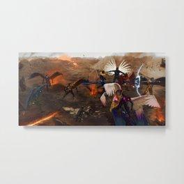 War in Heavens Metal Print