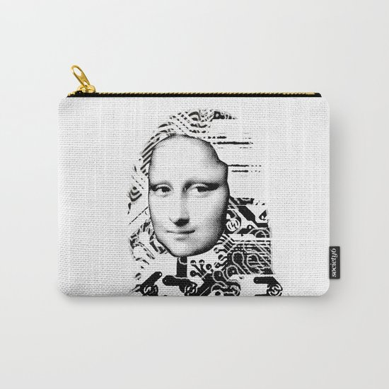 Mona Lisa Platina 1 Carry-All Pouch