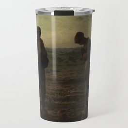 The Angelus by Millet Travel Mug