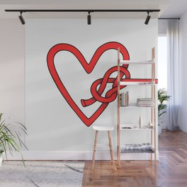 knot in love Wall Mural