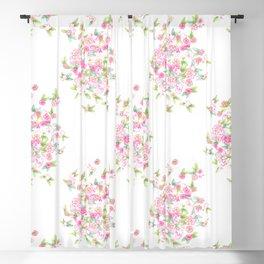 Martha's Flowers Blackout Curtain