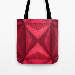 Origami - Fuchsia Tote Bag