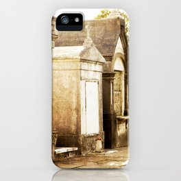 Aboveground cities of the dead iPhone Case