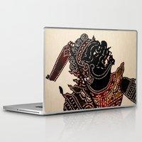 theatre Laptop & iPad Skins featuring Theatre balinais by Sébastien BOUVIER