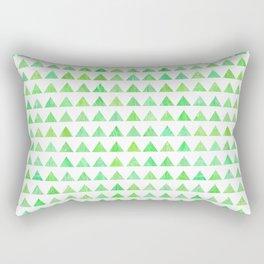 evergreen geometric pattern Rectangular Pillow