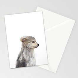 littlest wolf Stationery Cards