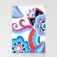 henna Stationery Cards featuring Henna Colourful by nicky9