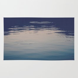 Ombre Lake Ripples Rug