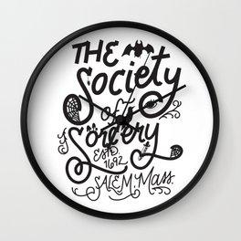 The Society of Sorcery Wall Clock
