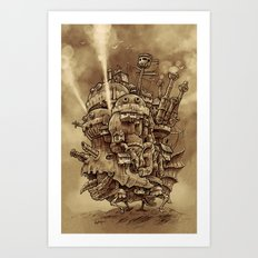 Moving Castle Art Print