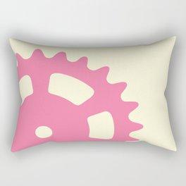 Cog and Roll (pastel) Rectangular Pillow
