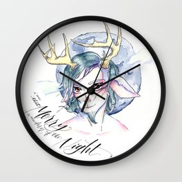 A Midsummer Night's Dream- Puck the Merry Wanderer of the Night Wall Clock