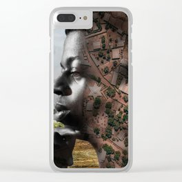 African territories Clear iPhone Case