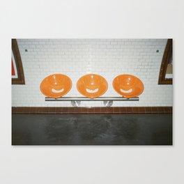 Sit  Canvas Print