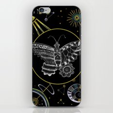 Space Butterfly iPhone & iPod Skin
