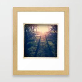 PARALELL Framed Art Print