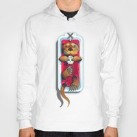otters Hoodies featuring R.I.P. My Haters by kevintstang