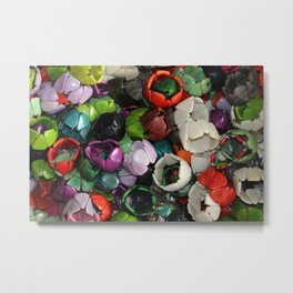 Tagua Nut Bracelets Metal Print