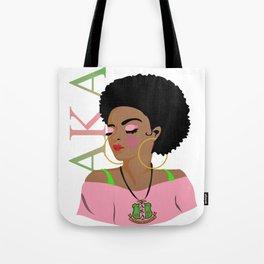 Alpha Kappa Alpha (Divine Nine Series) Tote Bag